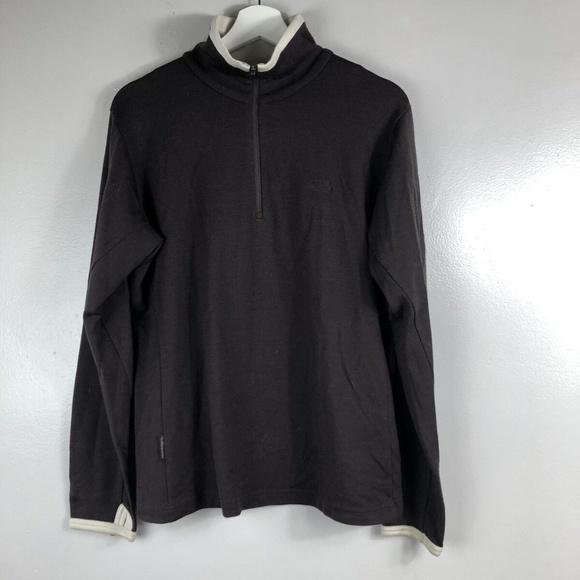 Icebreaker Half Zip Pullover XL Merino Wool 260
